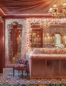 Annabels Vanity Room lighting design